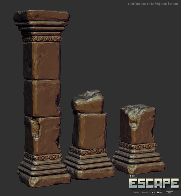 ESCAPE - Dongala - Grey Foxholes - Polycount Forum