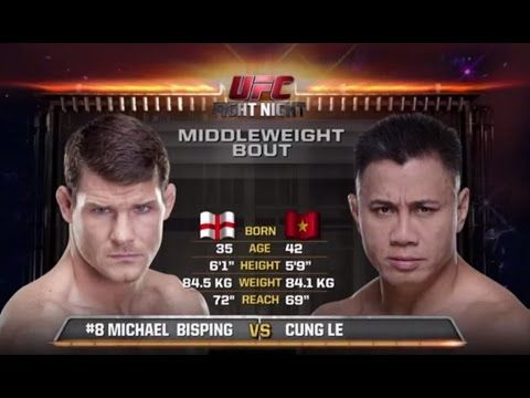 UFC 199 Free Fight: Michael Bisping vs Cung Le