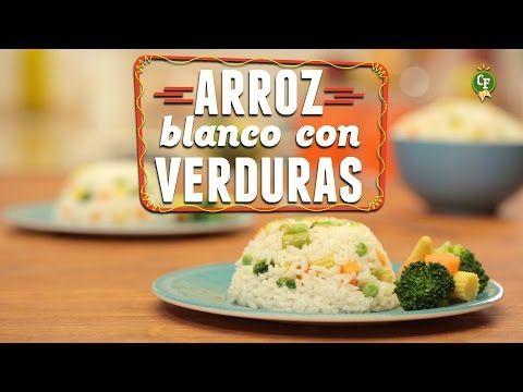 ¿Cómo preparar Arroz Blanco con Verduras? - Cocina Fresca