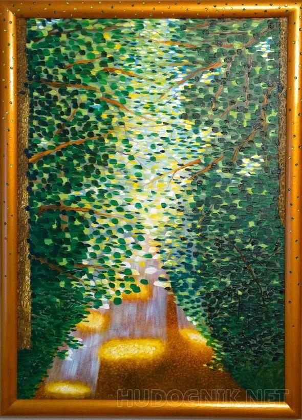 """""""Шанс"""" Шанс..- ))) это как неожиданный проблеск света на твоем пути.    Картина вставлена в авторскую раму, созданную самим художником."""