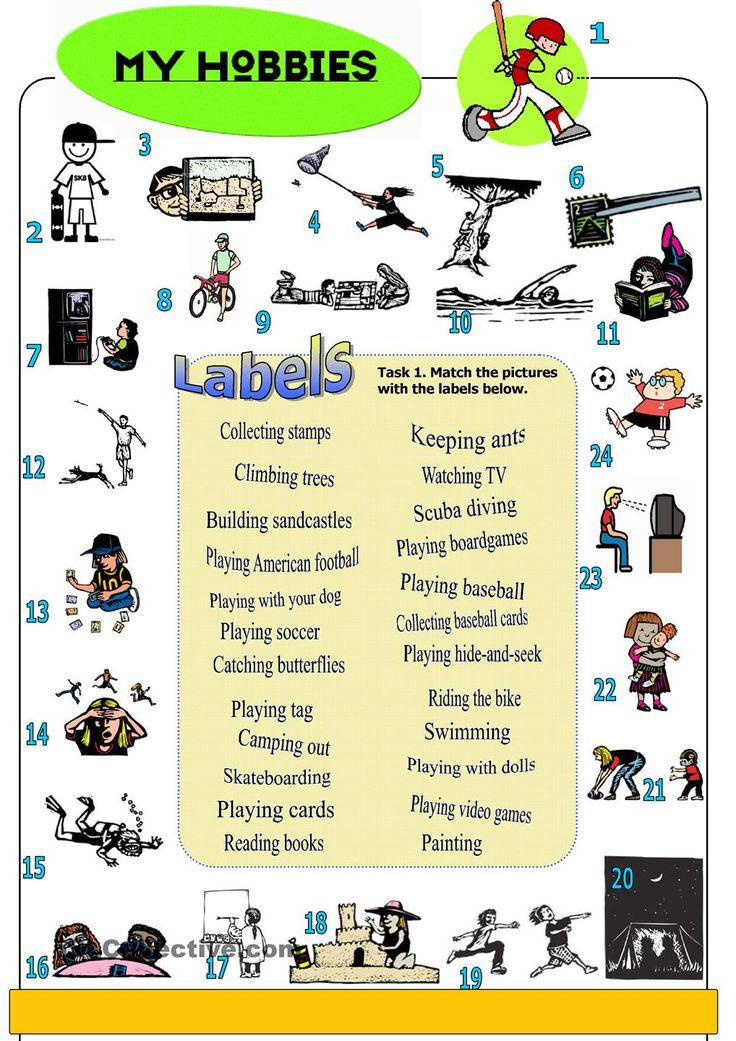 my hobbies pictionary vocabulary learn english english vocabulary vocabulary worksheets. Black Bedroom Furniture Sets. Home Design Ideas