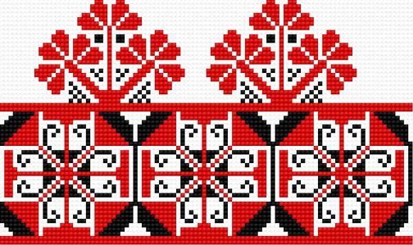 Ukrainian embroidery (folk)