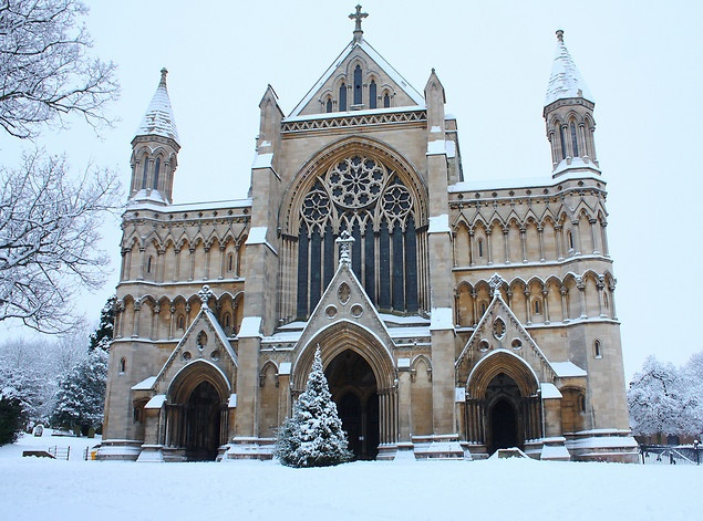 St. Alban's Cathedral, St. Alban's, Hertfordshire.