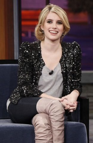 The Look For Less: Emma Roberts's Sequined Cardigan