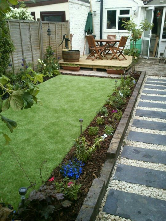 Artificial Grass Garden Designs back gardens easigrass uk website Find This Pin And More On Artificial Grass Garden Landscaping