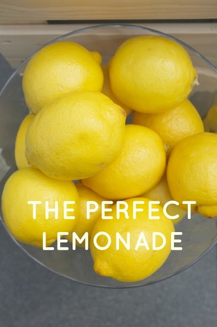 GOOD TASTE - The Perfect Lemonade