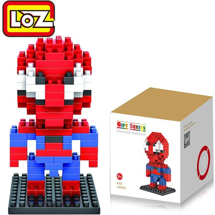 SHARE & Get it FREE   LOZ 130Pcs Spider-man Building Block Creative ABS Material Kid Toy M - 9154For Fashion Lovers only:80,000+ Items • New Arrivals Daily • Affordable Casual to Chic for Every Occasion Join Sammydress: Get YOUR $50 NOW!