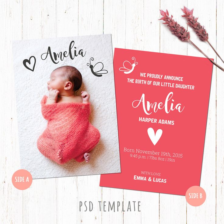 baby shower invitation girl version after effects royalty free