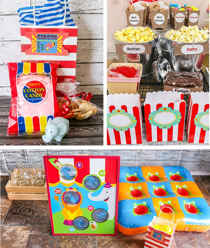 1000+ Images About Circus And Carnival Party Decorations