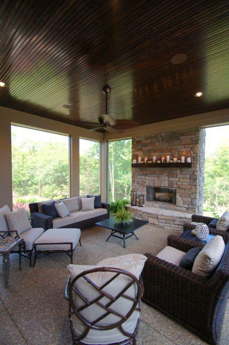 Outdoor Living Area Design By Designs On Madison Interior Company In Cincinnati