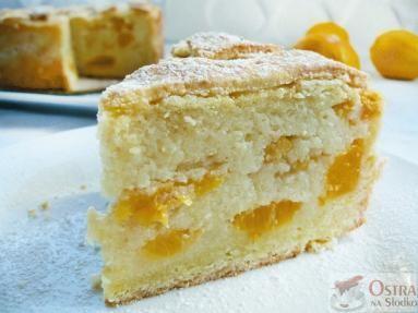 Zdjęcie: Ciasto brzoskwiniowe z kaszy manny