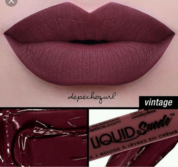 NYX Matte Liquid Suede Cream Lipstick LSCL12 Vintage 100% Authentic Seal #NYXCOSMETICS