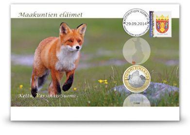 Kettu-maakuntarahakirje, Varsinais-Suomi Rahakirjeissä kaikki elementit liittyvät samaan aiheeseen, niin juhlaraha, kuoren kuvitus kuin postimerkki ja leimakin. Keräilijän kannalta kiinnostavuutta lisää myös rahakirjeiden juokseva numerointi ja rajoitettu painos.