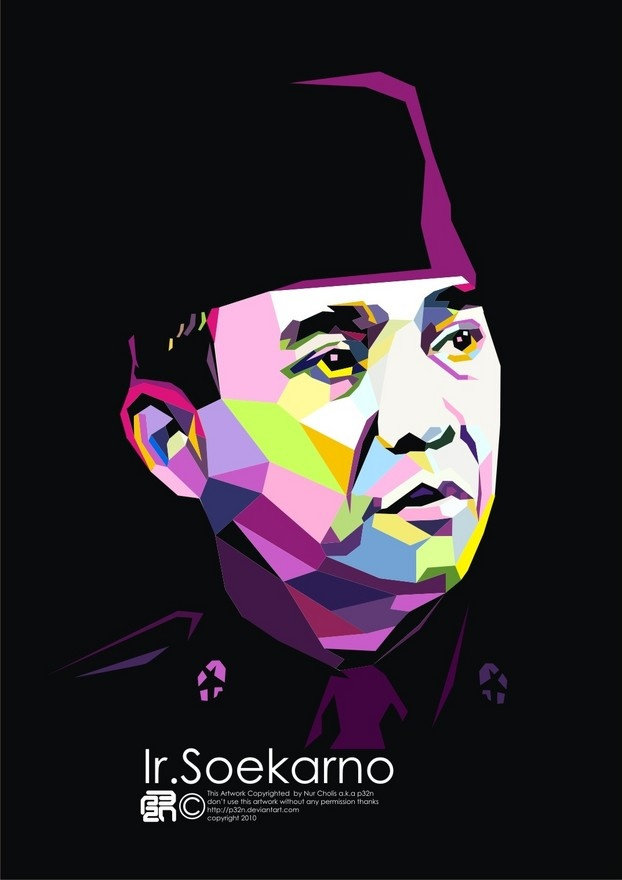 First President Indonesian Republic  Ir. Soekarno