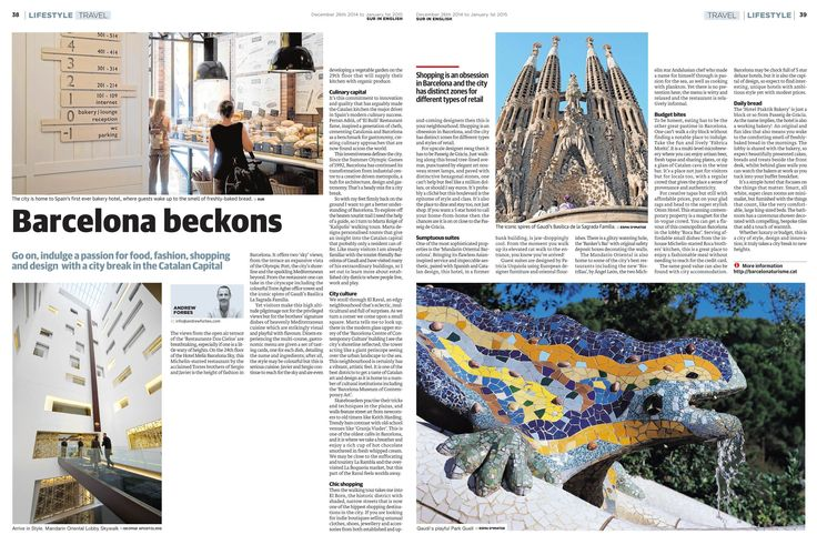 Barcelona Beckons - travel feature by Andrew Forbes www.andrewforbes.com #luxestyletravel #luxurytravelpursuits