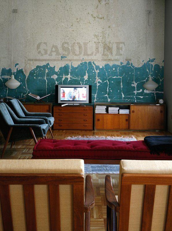 Les 69 meilleures images propos de trompe l 39 oeil wallpaper sur pinterest homards peintures - Wallpaper trompe houtlook ...