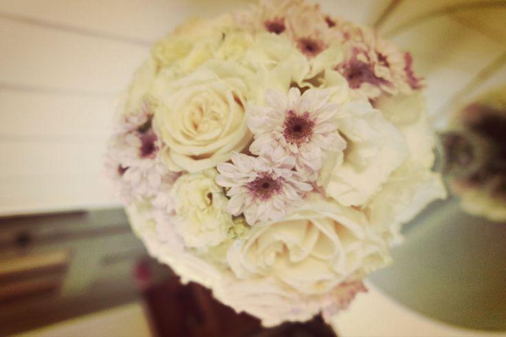 bouquet romantico, white