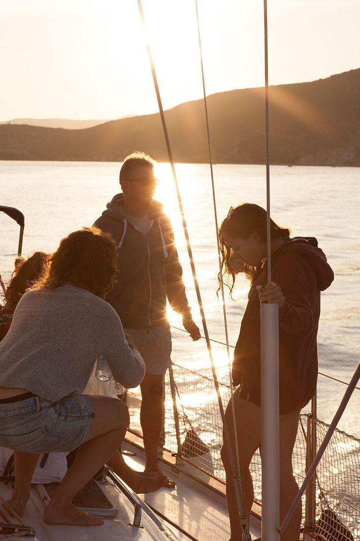 Sailing in Milos