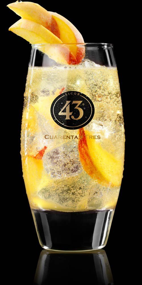 Puur Recepten - Licor 43 Cheaky Peachy (Willem 43)