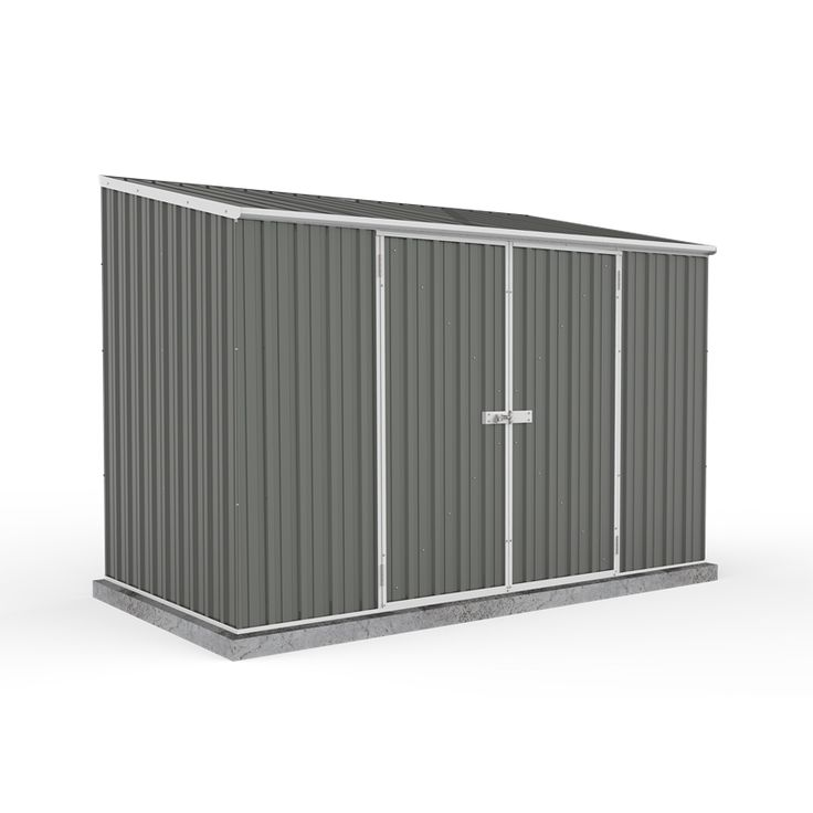 Find Garden Pro 3 x 1.52 x 1.95m Masterstore Double Door Shed - Grey at Bunnings Warehouse. Visit your local store for the widest range of garden products.
