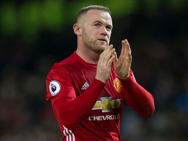 Wayne Rooney takes part in Manchester United training ahead of Europa League tie