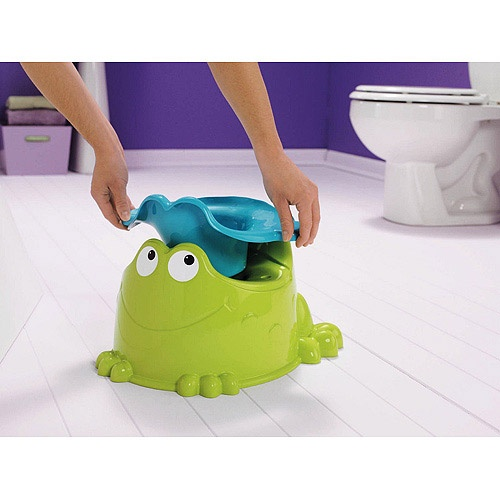Great potty chair for boys because of the higher than normal splash guard!    Fisher Price - Precious Planet Froggy Friend Potty.... This what trained my oldest boy.. We called it the Froggy Potty