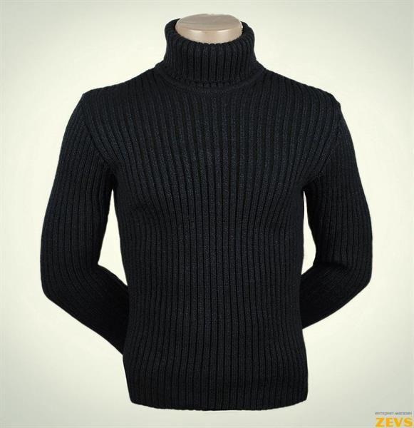Купить мужской финский вязанный свитер с воротом