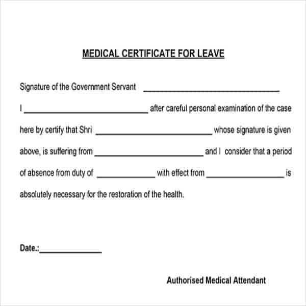 Perfect Are You Seeking A Medical Help Of Online Doctor But In Need Of A Sick Note In Free Medical Certificate