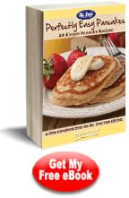 Perfectly Easy Pancakes: 28 Simple Pancake Recipes