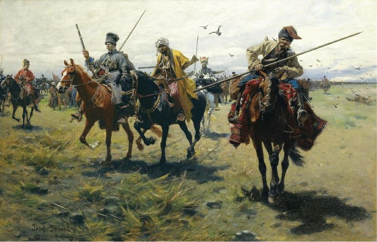 Cossack - Józef Brandt