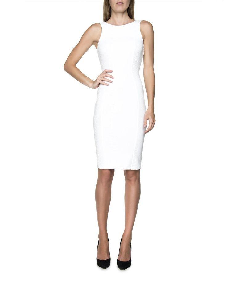 Textured Body Con Dress