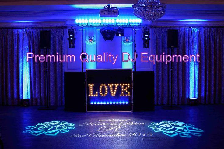 Premium Quality DJ Equipment For Southampton, New Forest & Hampshire - DJ Martin Lake