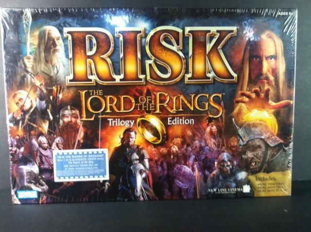 Risk Lord Of The Rings Trilogy Edition New Sealed Fantasy Board Game NIP LOTR | eBay