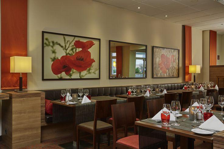 Modernes Restaurant im H+ Hotel Darmstadt