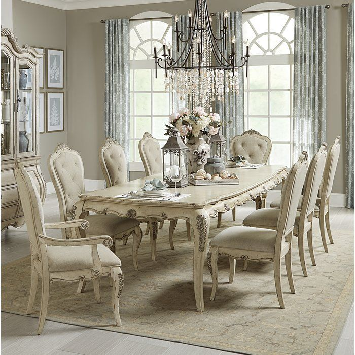 Mitzel Dining Table French Country Dining Room Country Dining Rooms Dining Room Sets