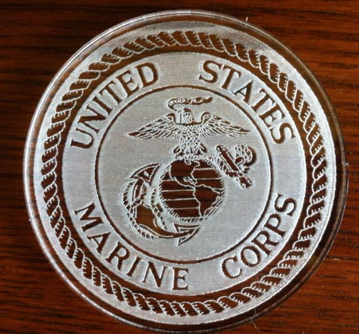 90 best acrylic design signs products images on pinterest for Table 3 6 usmc