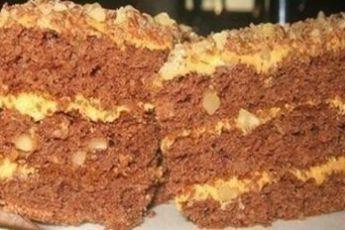 Домашний торт «Золотой ключик»