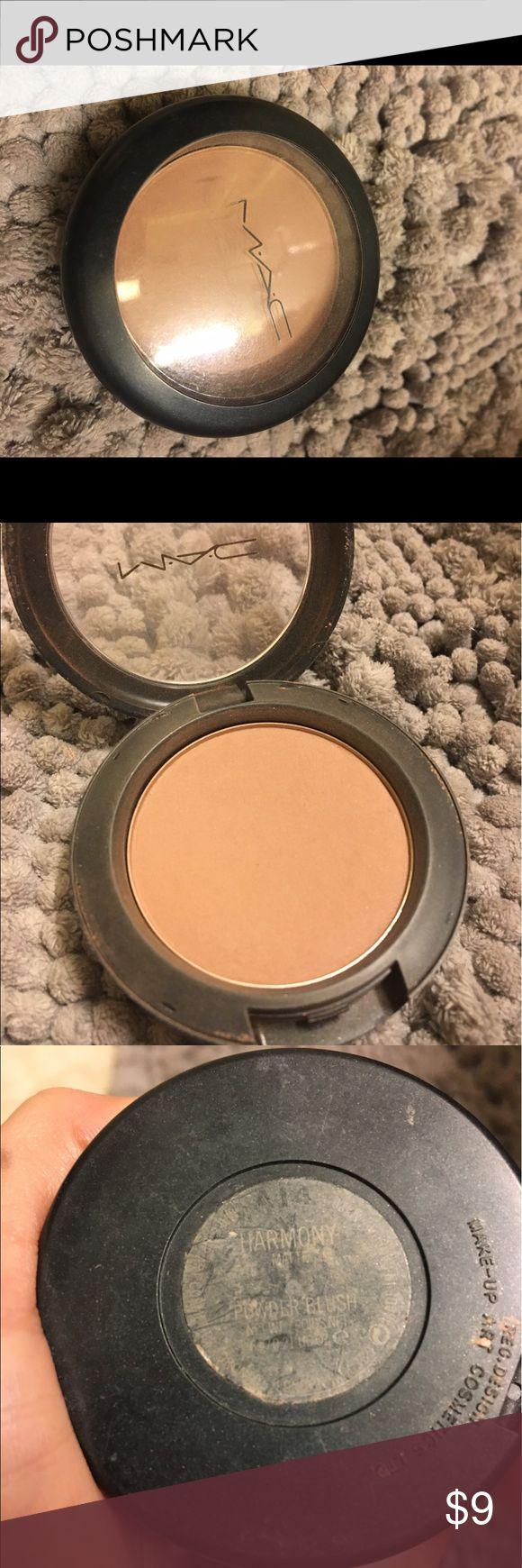 "MAC Harmony Blush Barely used blush ""Harmony"" MAC Cosmetics Makeup Blush"