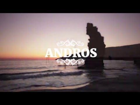 Andros tour with sup - YouTube