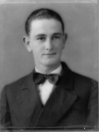 Lyndon B. Johnson, ca. 1927                                                                                                                                                     More