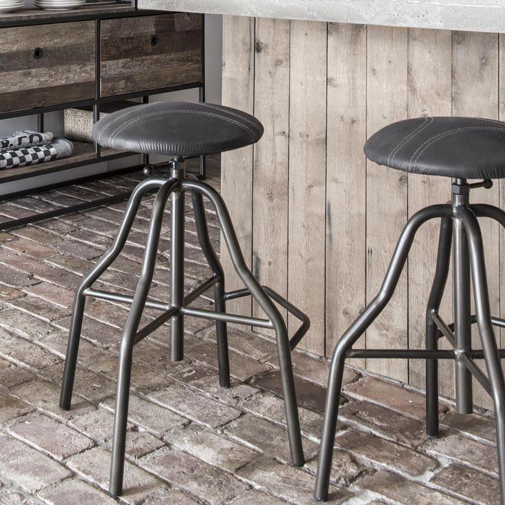 47 best m bel industry design images on pinterest wood for Barhocker leder grau