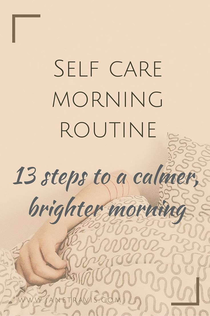 If your mornings are stressed and rushed, take a look at these 13 steps to a…
