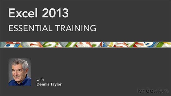 lynda excel 2013 essential training http tutdownload. Black Bedroom Furniture Sets. Home Design Ideas
