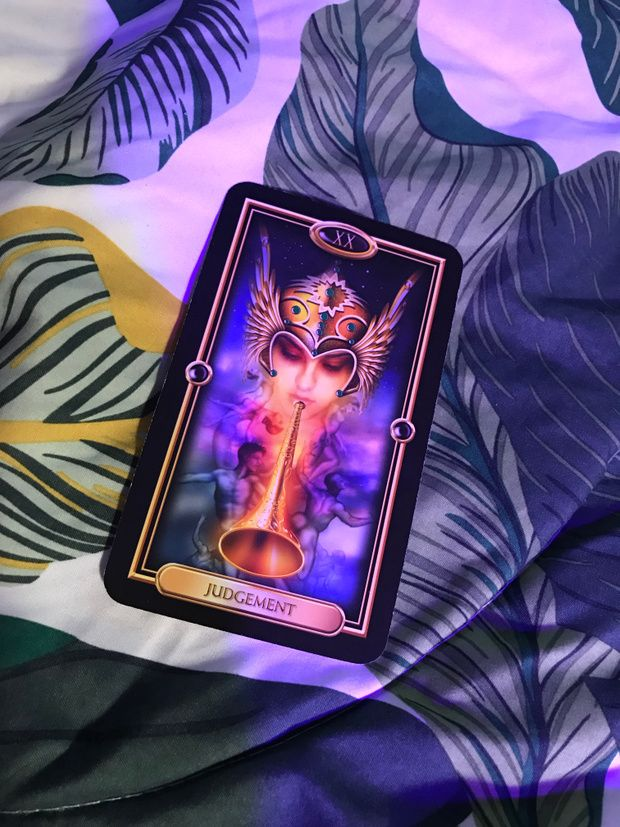 Patreon Judgement Tarot Card Love And Light Signs From The Universe