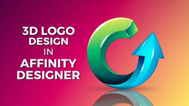 3D Logo Design Affinity Designer (Company logo)