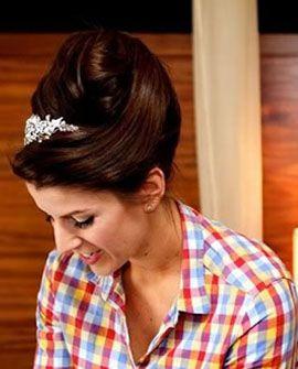 Gorgeous bridal pleat!