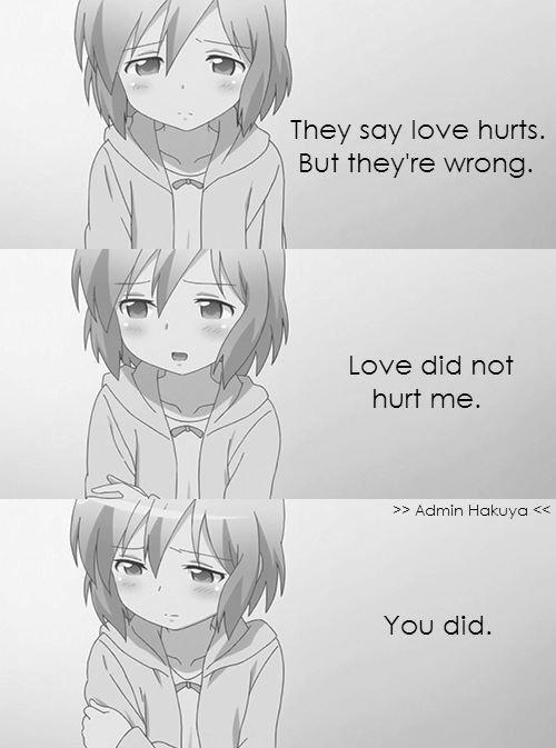 --Dicen Que El Amor Duele-- --Pero Estan Equivocados-- --El Amor NO Me Lastimo-- --TU Lo Hiciste--