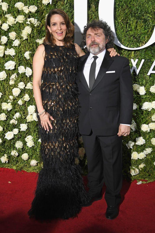 Tina Fey and Jeff Richmond -  2017 Tonys Red Carpet