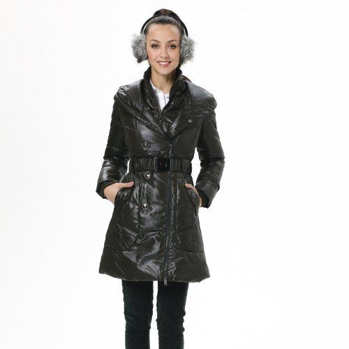 Bosideng Winter Warm Women's Fashion Slim Red Down Filled Jacket BR2322 Bosideng. $133.80
