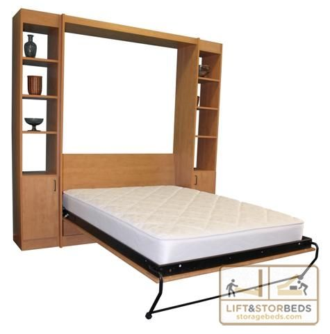 Strong, durable and long lasting wall bed do-it-yourself hardware kit by Lift & Stor Beds. Available in Twin, Double/Full, Queen, King.